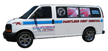 California Dent Removal Van
